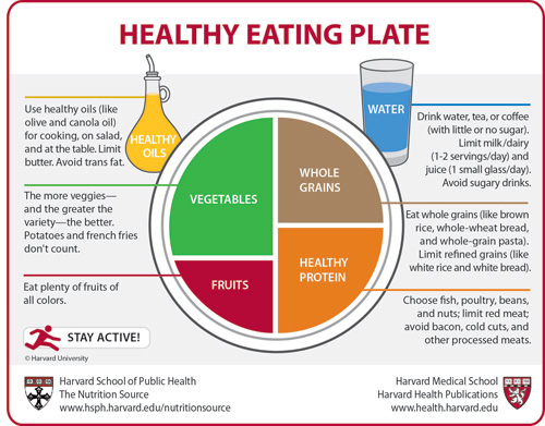 Harvard To Usda Check Out The Healthy Eating Plate Harvard Health