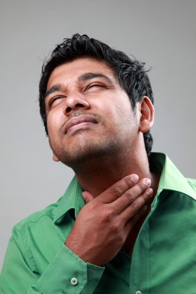 Recurrent strep throat in adult