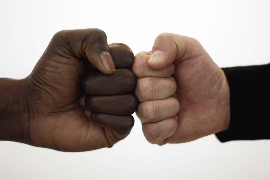 Fist bump better than handshake for cleanliness - Harvard Health Blog -  Harvard Health Publishing