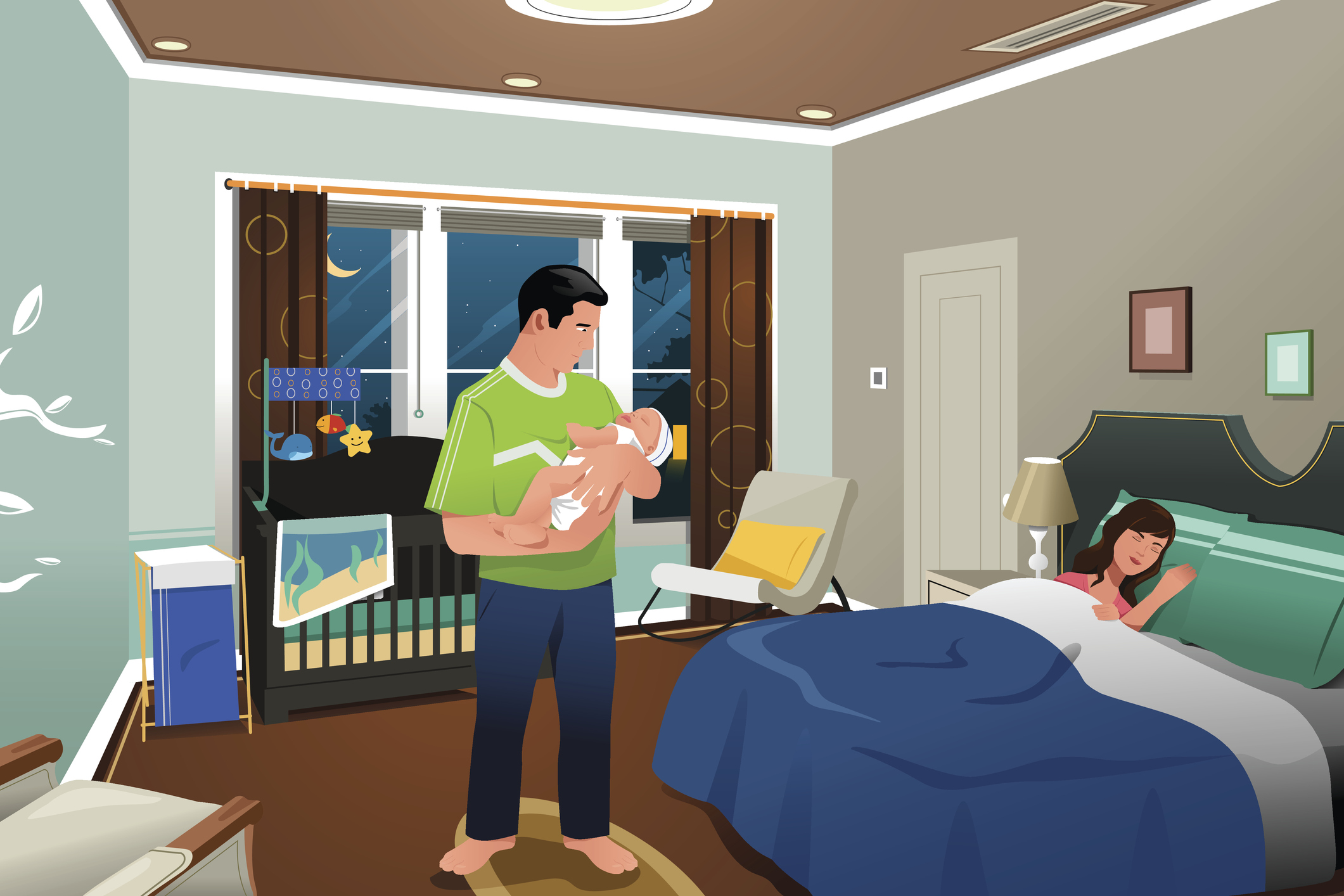 Room Sharing With Your Baby May Help Prevent Sids But It Means Everyone Gets Less Sleep Harvard Health Blog Harvard Health Publishing