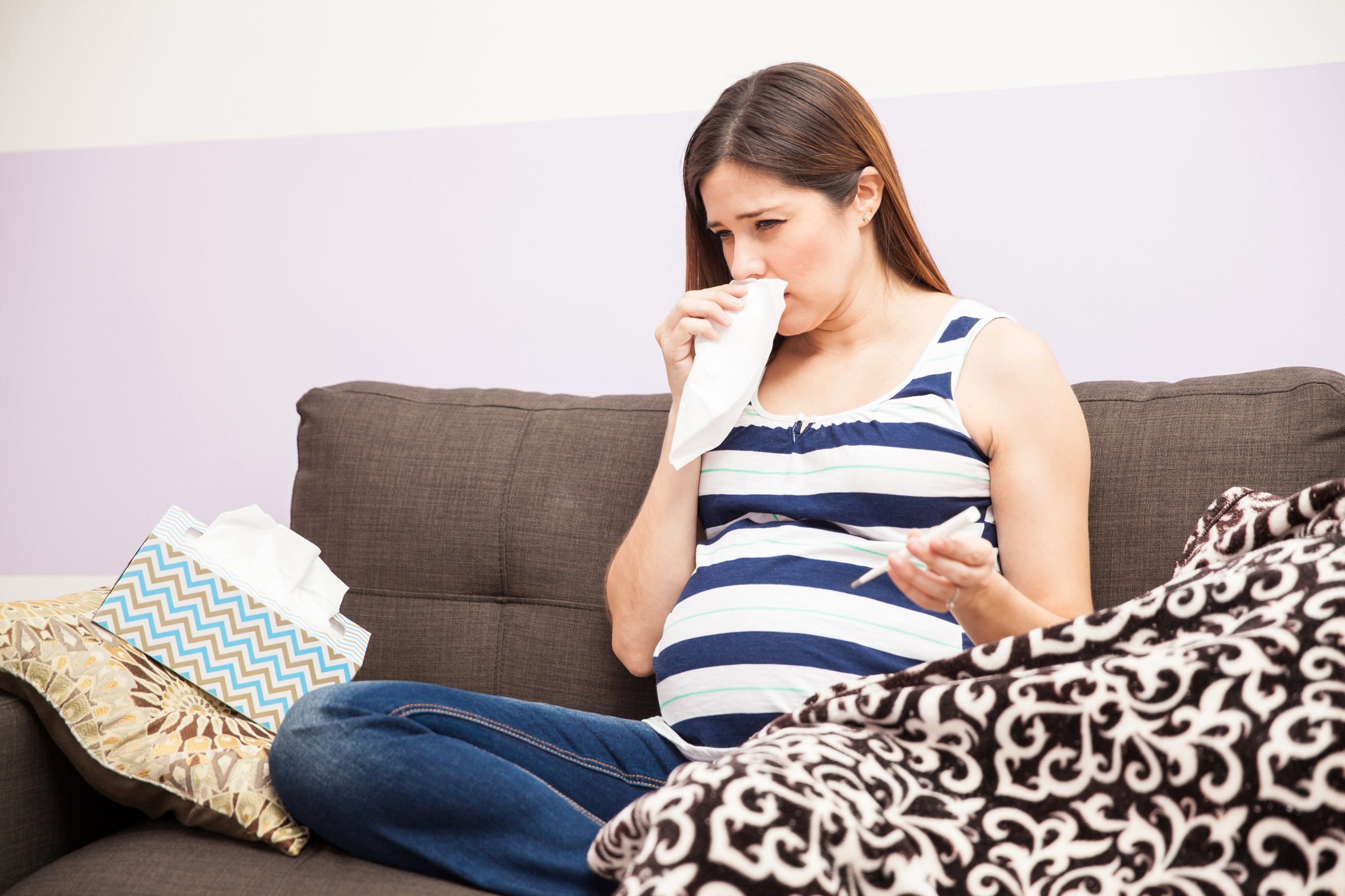 Pregnant women can be treated with flu medications