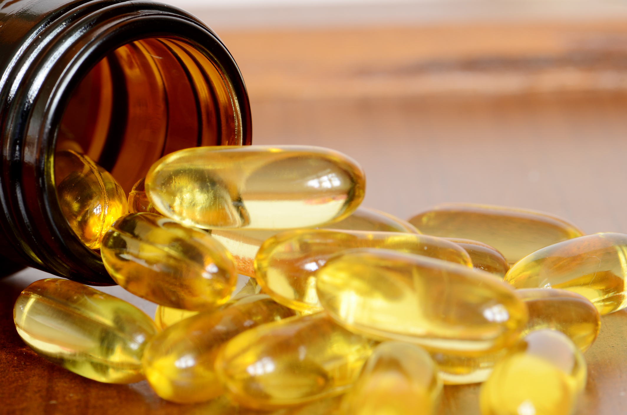 Vitamins and Omega-3 Fatty Acids May Stop Brain Shrinkage