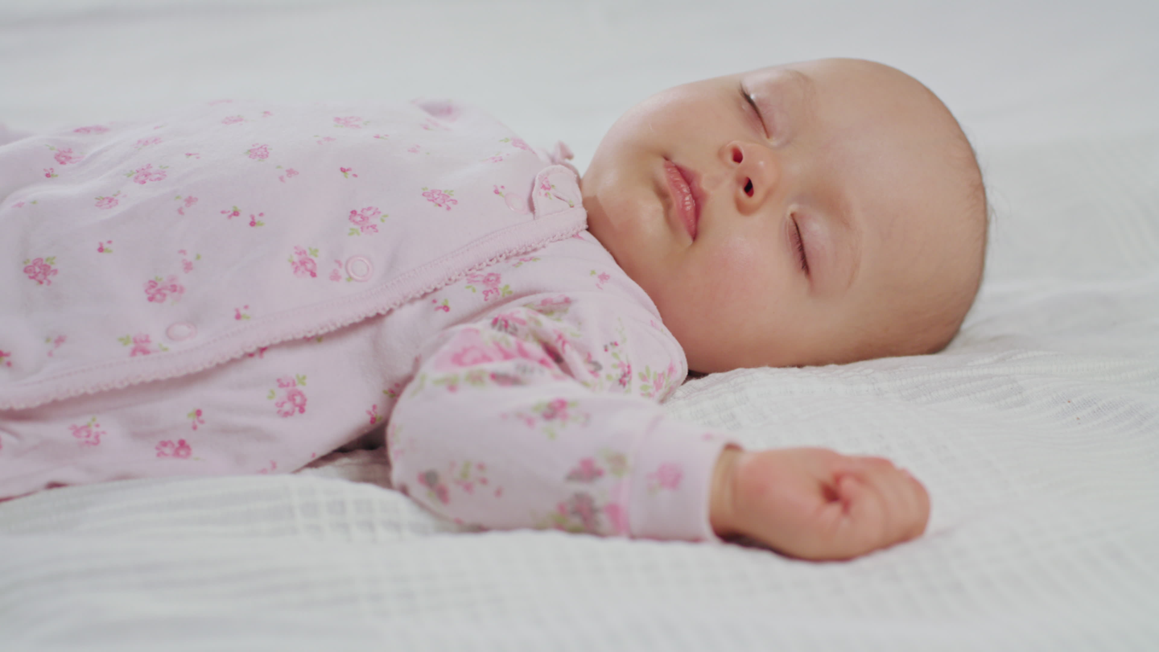 Pictures of a baby sleeping