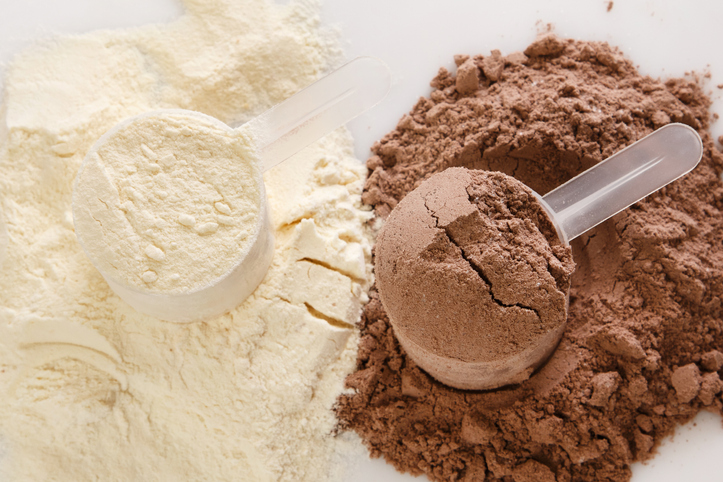 encorporating protein powder into workout diet