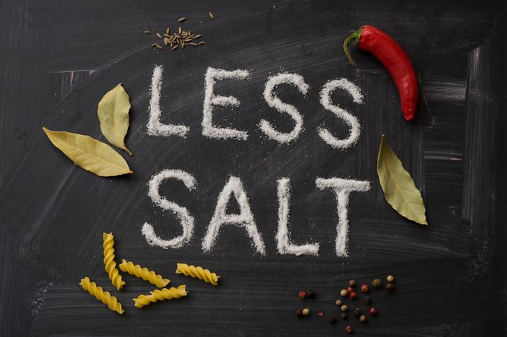 less sodium