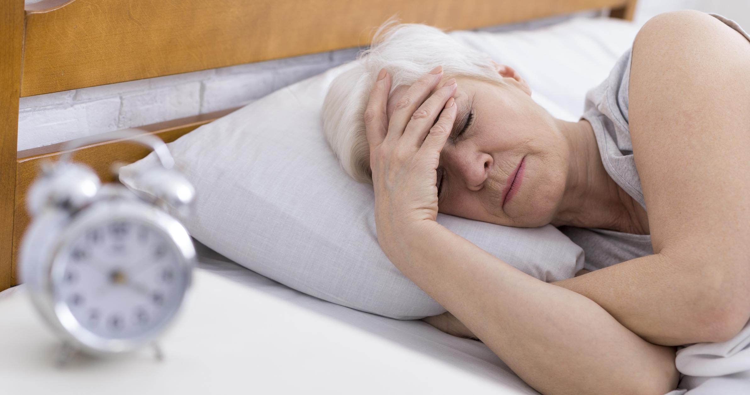 O sono mais curto no estágio do sonho pode estar relacionado à morte anterior 2
