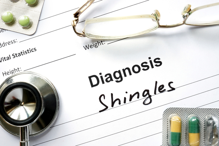 Shingles of the eye can cause lasting vision impairment